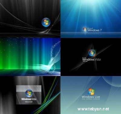مجموعه ای زیبا از پس زمینه های ویندوز ویستا و ویندوز 7