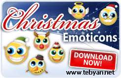 MSN Christmas Emoticons Pack