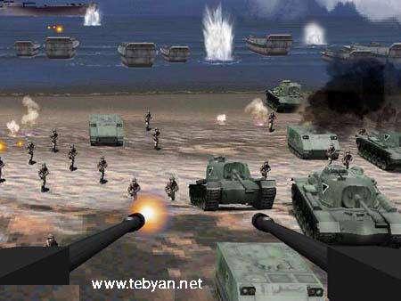بازی Beach Head 2000