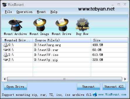 WinMount 3.2.0120