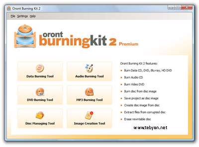 Oront Burning Kit 2 Premium 2.6.2