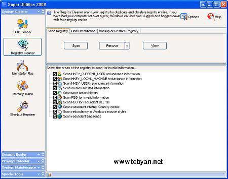 Super Utilities Pro 2008 v9.38