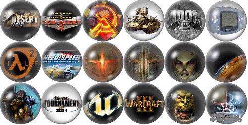 آیکن های زیبای Games Icons Pack