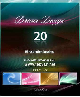 Dream Design Brushes Pack for Photoshop