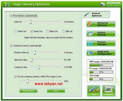Magic Memory Optimizer v8.1.1.0089