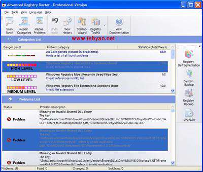 Advanced Registry Doctor Pro 8.8 Build 08.21