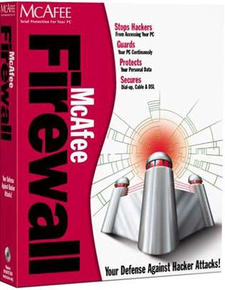 Mcafee Firewall 8.5 corporate