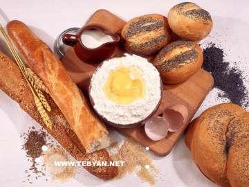 نان ,کلوچه ,نان ماشيني, نان سنتي
