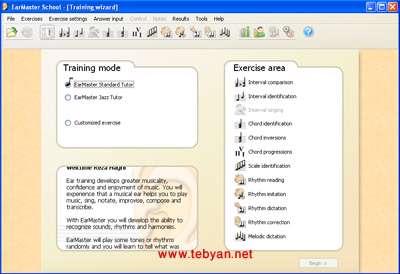 دانلود برنامه آموزش از طریق شنوایی EarMaster School 6.2.Build.655PW