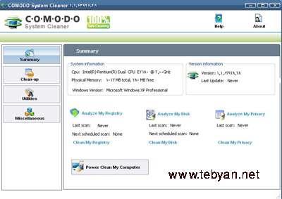 Comodo System Cleaner 1.1.63928.28