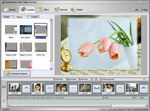 Wondershare Flash Gallery Factory 4.7.3.5