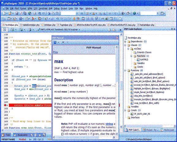 PHP Designer 2008 v6.2.5 Pro