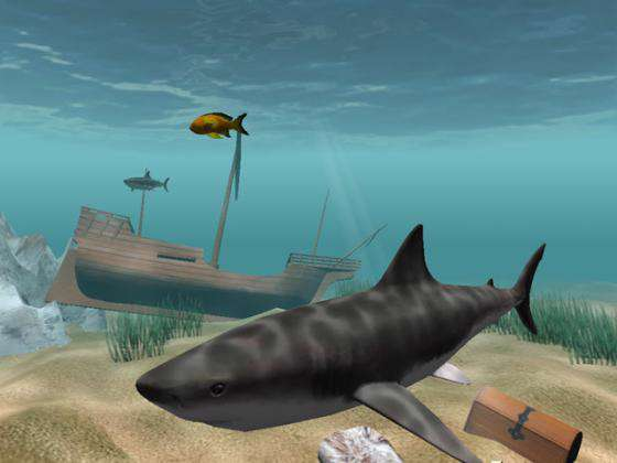 Shark Water World 3D Screensaver v1.5.3.3