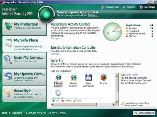 Kaspersky Internet Security 2010 Final