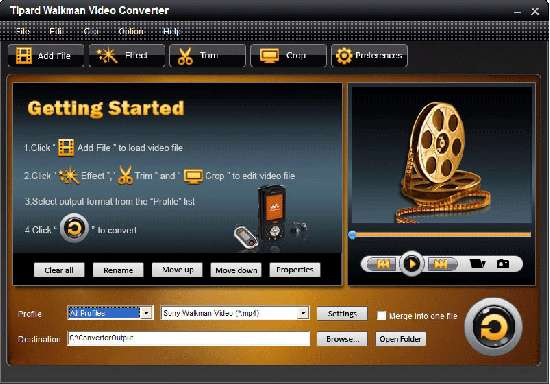 Tipard Walkman Video Converter v4.0.06