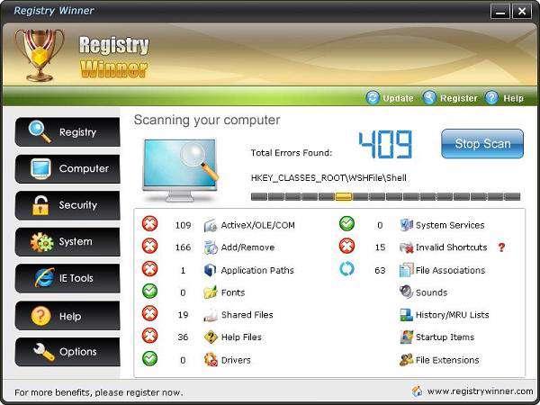 Registry Winner 5.3 Precracked