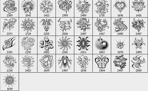 Flower Tatto Design