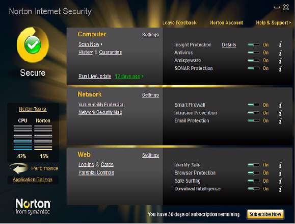Norton Internet Security 2010 Final