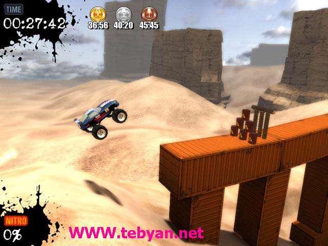 بازی Monster Truck Challenge