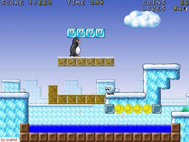 بازی supertux v0.1.1