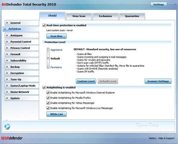 Bitdefender Internet Security 2010 part1
