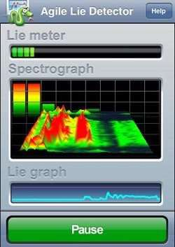 Agile Lie Detector