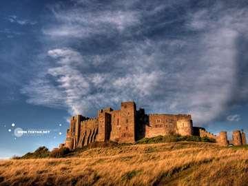 قلعه ,  تونل , ديوارهاي سنگي