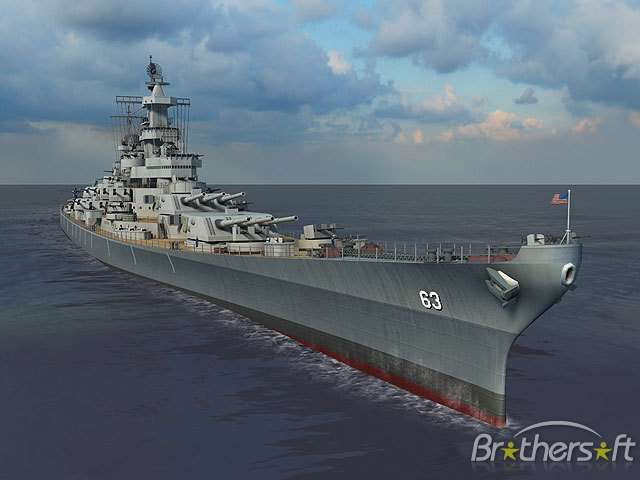 Battleship Missouri 3D Screensaver v1.0