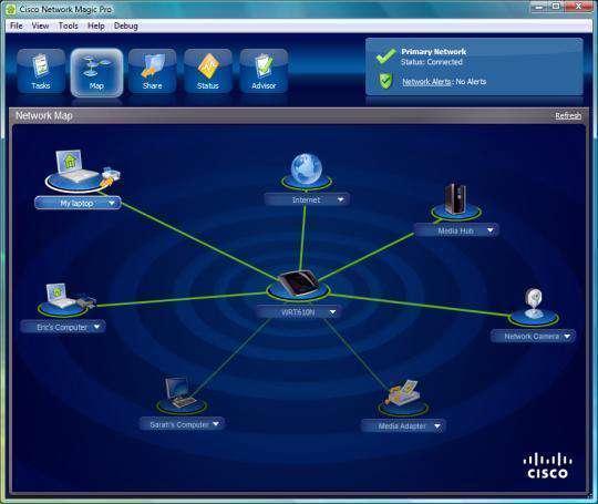 Cisco Network Magic Pro 5.1