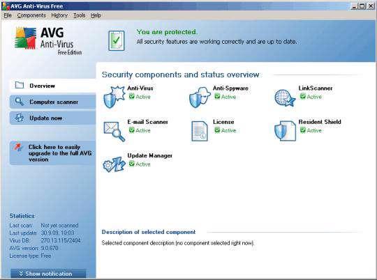 به روز رسانی نرم افزار امنیتی AVG ( فروردین ماه 1389)