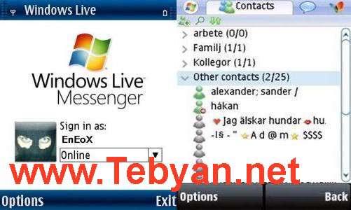 MSN Windows Live Messenger v6.0
