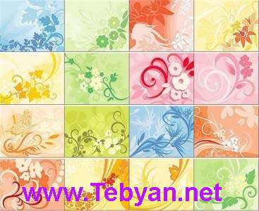 Floral Ornament Backgrounds