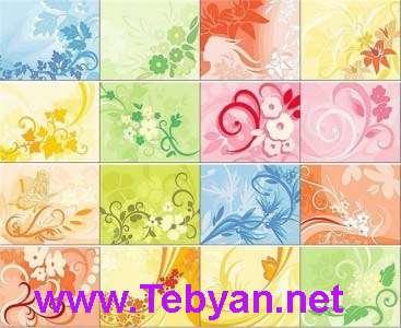 Floral Ornament Backgrounds