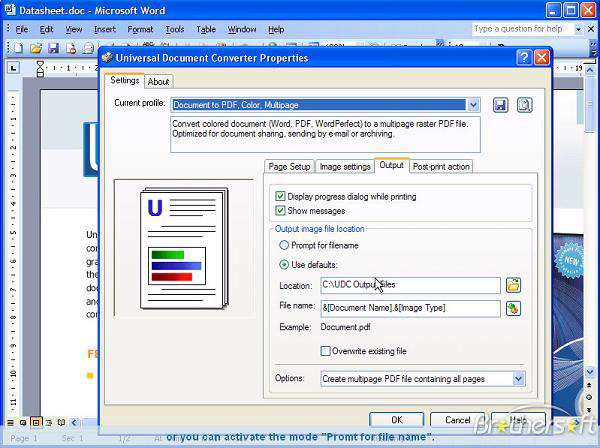 Universal Document Converter v5.0