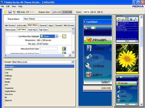 Nokia S40 Theme Studio 2.2
