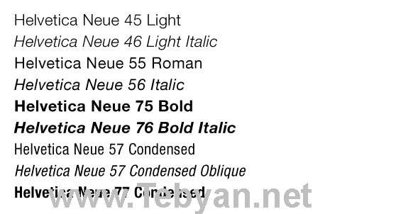 Web 2.0 Fonts