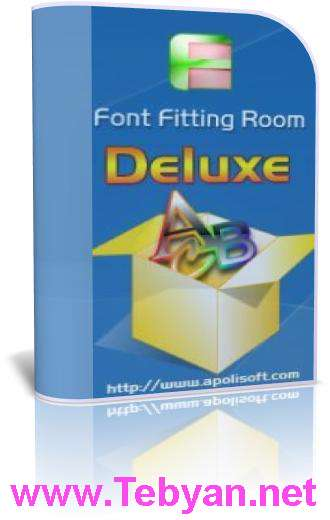 Apolisoft Font Fitting Room Deluxe v3.2.2.0