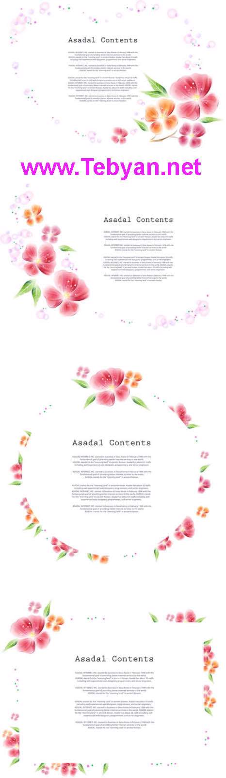 Spring Story Vector