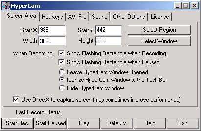 HyperCam 2.16.01