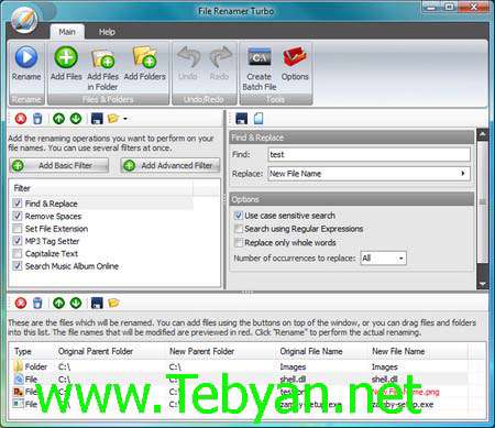 File Renamer Turbo 2.66