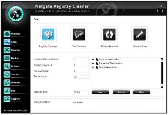 NETGATE Registry Cleaner 1.0.305