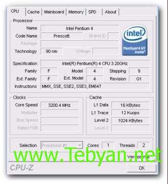 CPU-Z 1.53.2 Portable