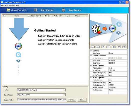 Any Video Converter Professional 3.0.3