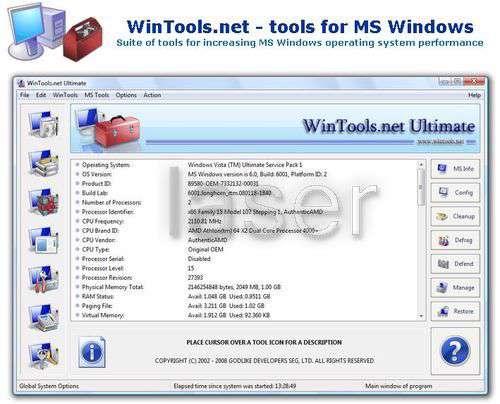Win Tools.Net 10.0.2