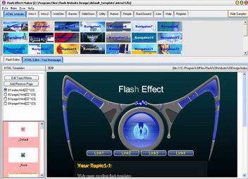 Flash Website Design Pro V2