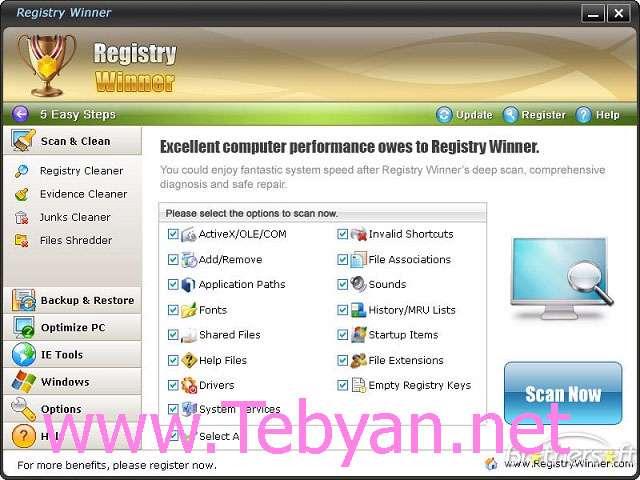 Registry Winner 5.7