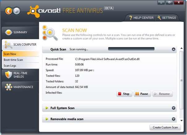 به روز رسانی آنتی ویروس Avast Internet Security( خرداد ماه 1389 )