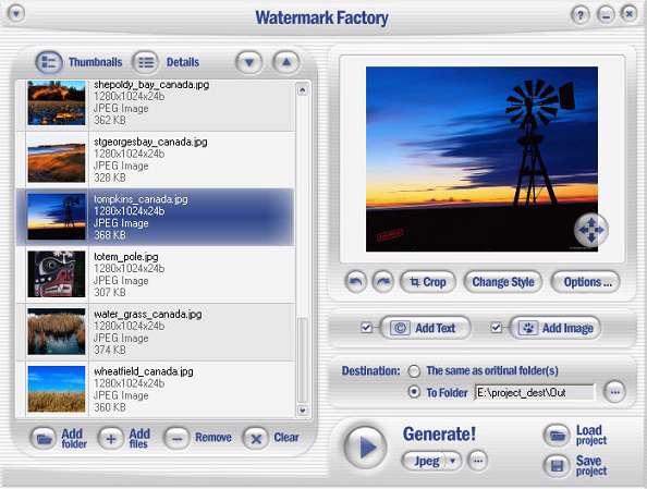 Watermark Factory v2.58