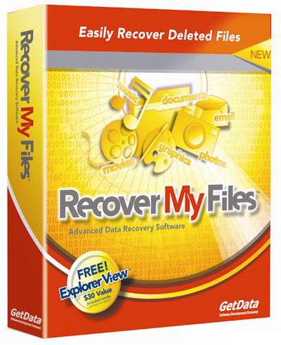 Recovery My Files 4.4.8.5