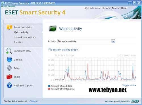 به روز رسانی نرم افزار امنیتی NOD32 ( آذرماه 1389)